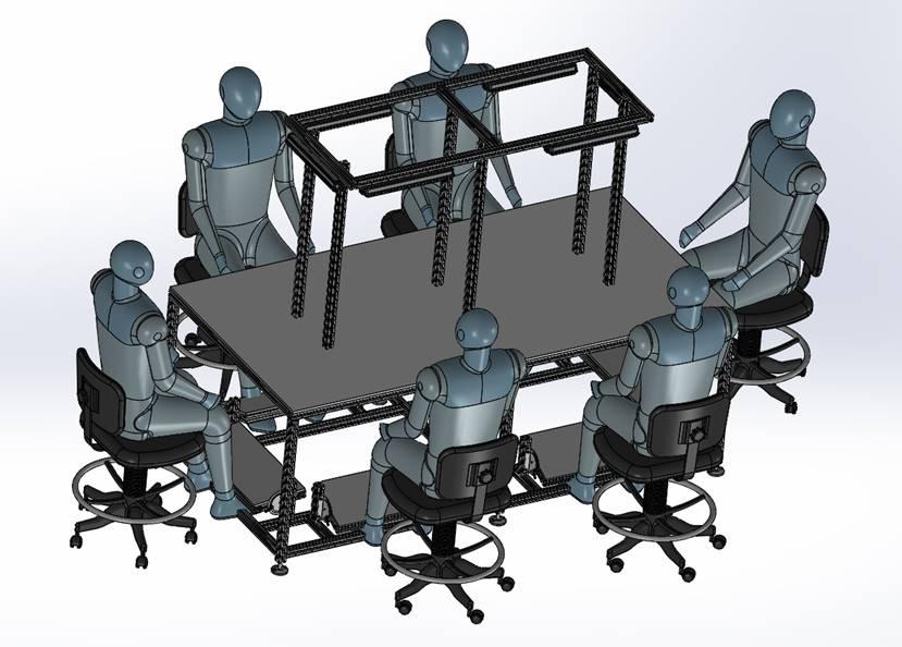 Wytwarzanie stanowisk produkcyjnych montaż stanowisk kontrolno-pomiarowych wyposażenie stanowisk
