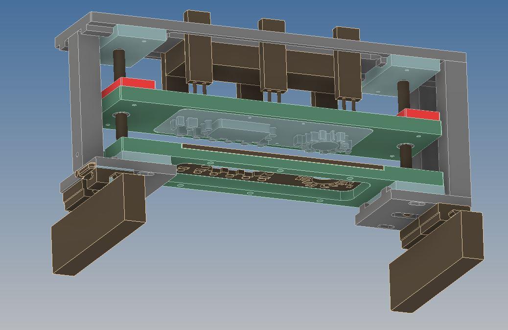 Stamp wybijak matryca tnąca projektowanie 3D 2D project CAD design